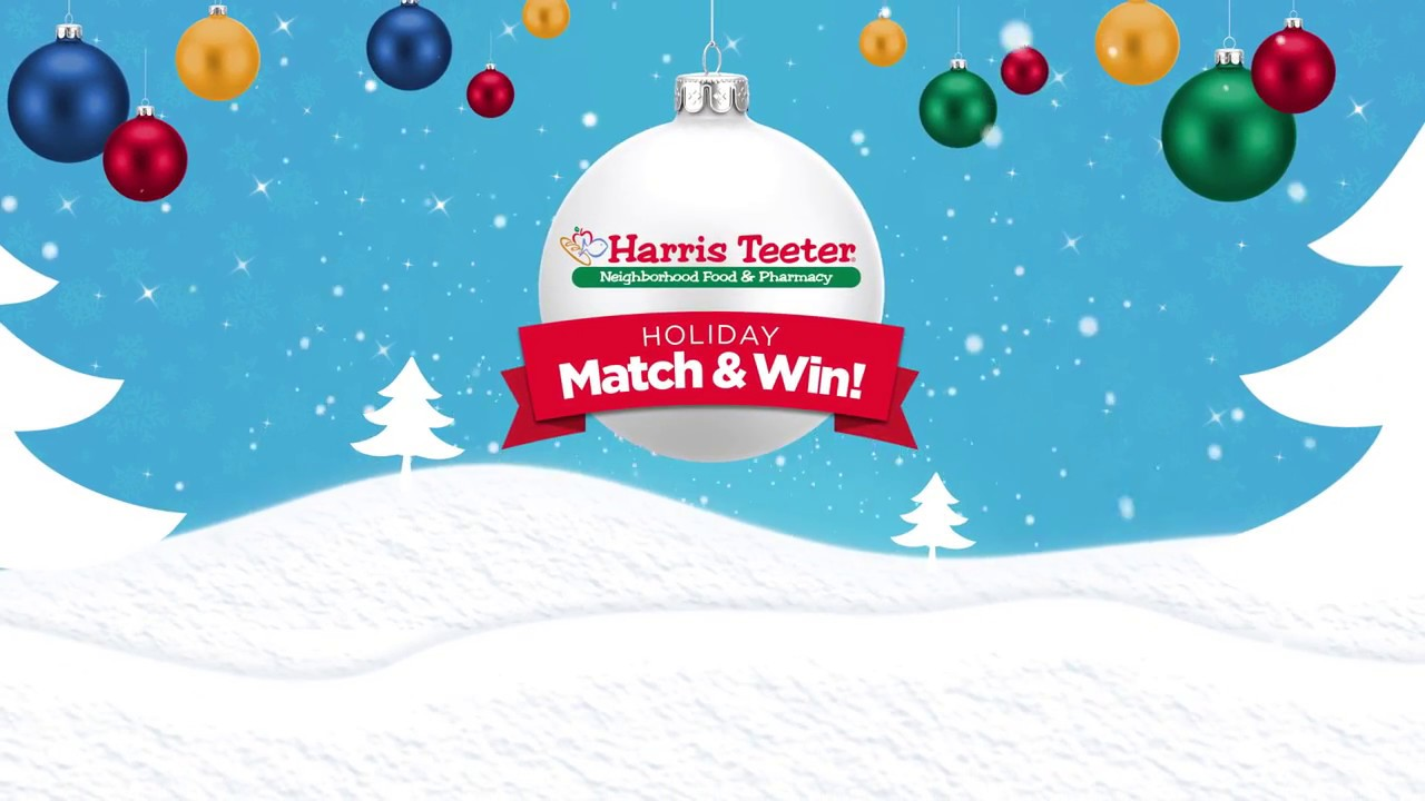 Play the Holiday Match & Win game by Harris Teeter - YouTube