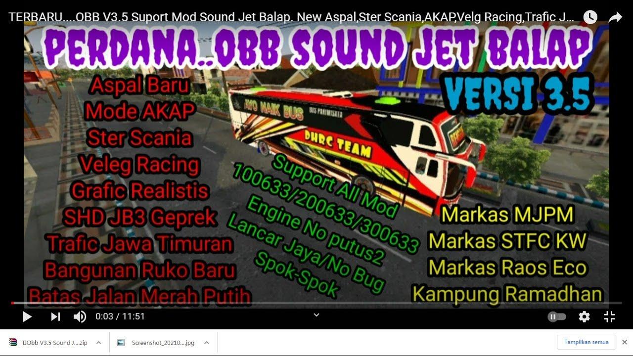 Share Obb V3 5 Sound Jet Balap