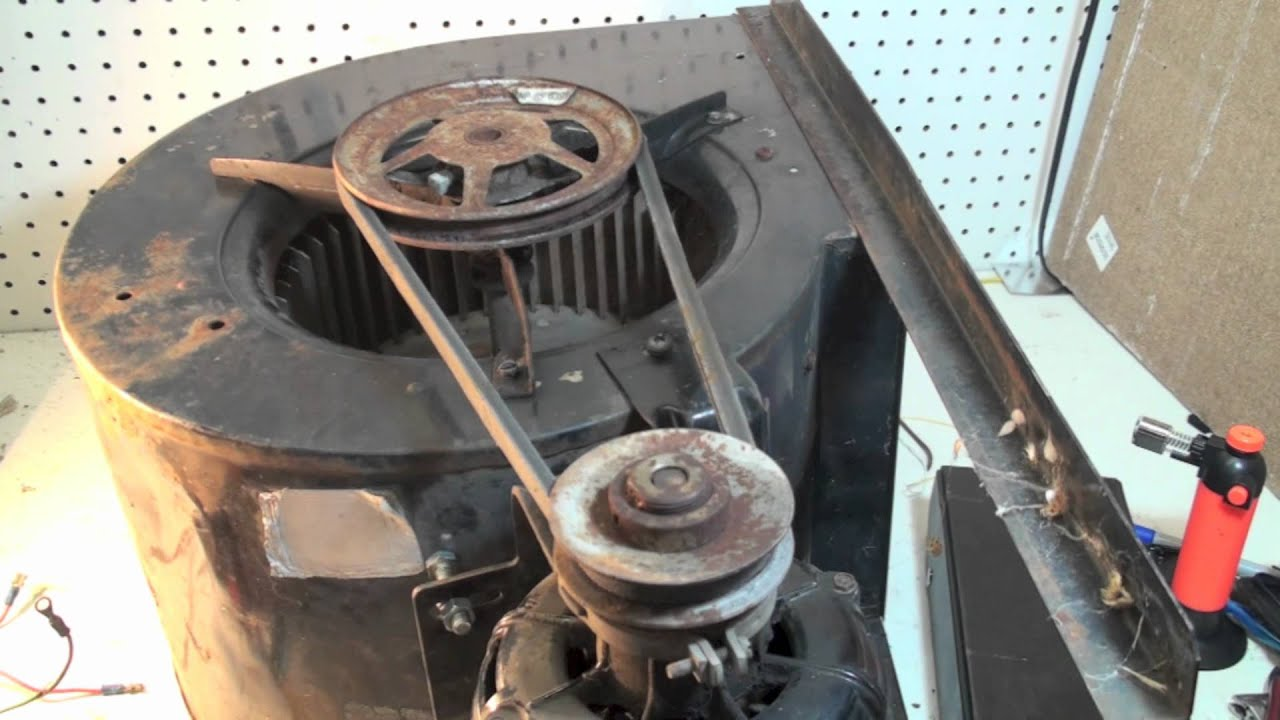 Belt Tensioning For Belt Drive Blowers Youtube