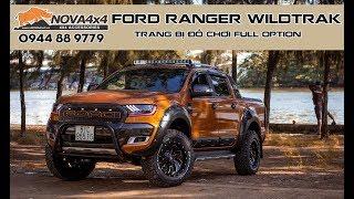 Ford Ranger Wildtrak trang bị full đồ chơi