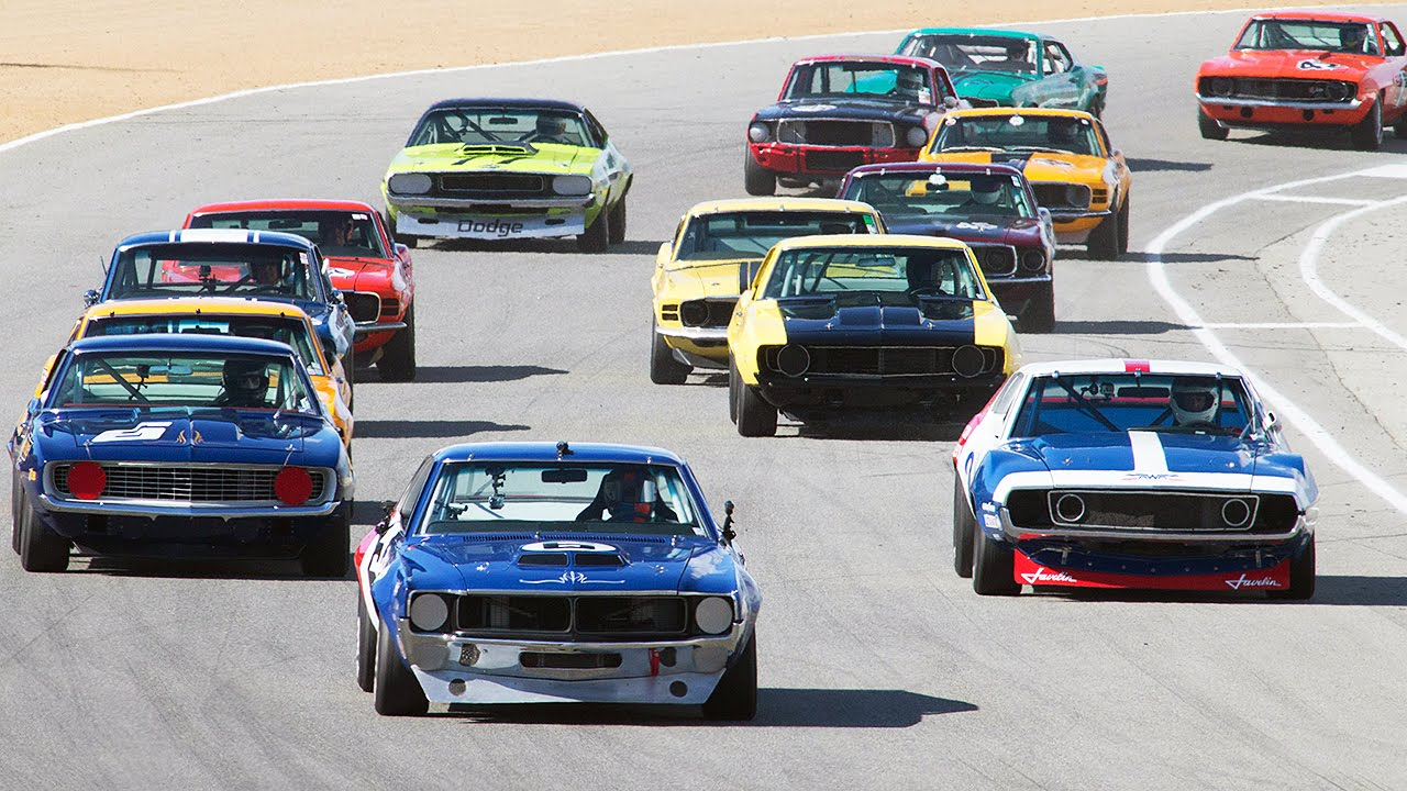REPLAY: Finals Day 1 - Rolex Monterey Motorsport Reunion! - YouTube
