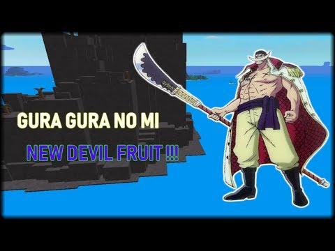 Roblox One Piece Legendary อ พเดทผลไม ป ศาจใหม ผล Gura Gura No - Roblox One Piece Legendary Gura Gura No Mi