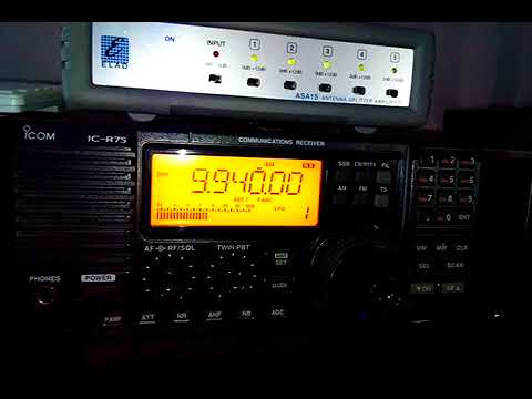 Swaziland Trans World Radio Africa 13 11 17 @ 19;35 UTC on 9940 kHz