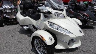 Can-Am Spyder with Semi-Auto Transmission Walkthrough