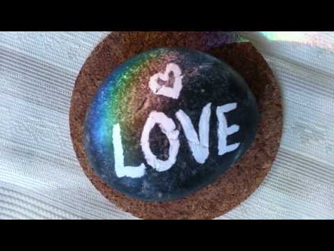 Rainbow Love Rock