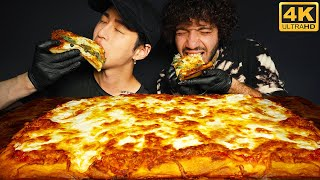 ASMR &#39LONELY&#39 PIZZA with BENNY BLANCO  COOKING &amp EATING SOUNDS  Zach Choi ASMR