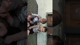 Funny video of lovely kids mashallah