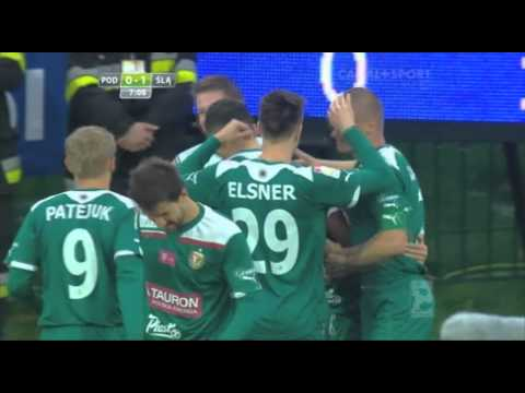 AMAZING dribble and goal in Poland for Slask Wroclaw
