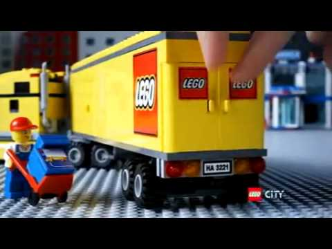 Camion lego city youtube - Lego city police camion ...