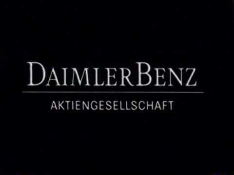 Zusammenschluß der Daimler Benz AG und der Chrysler Corporation