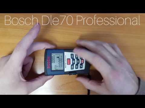 Bosch Dle 70 Professional мини обзор