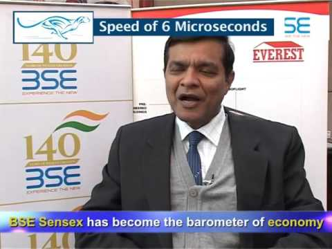 Manish Sanghi, MD - Everest Industries Ltd- on 140 years of BSE
