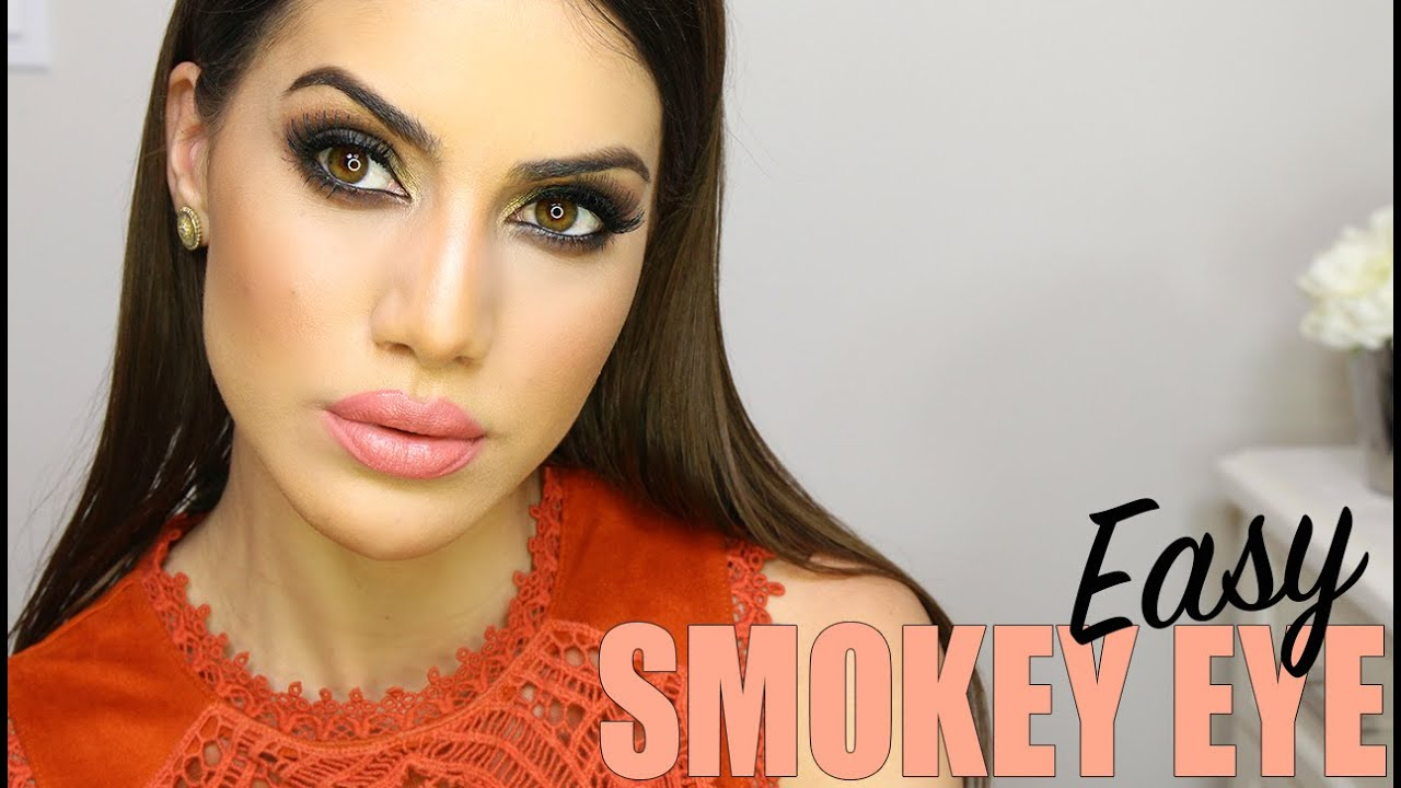 Brown Smokey Eye Tutorial   Makeup Tutorials and Beauty Reviews   Camila Coelho
