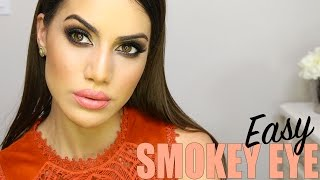 brown smokey eye tutorial   makeup tutorials and beauty reviews   camila coelho
