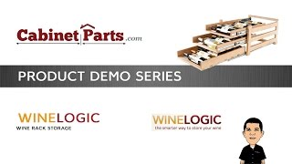 Wine Logic 18 Bottle In Cabinet Wine Rack - Product Information- Cabinetparts.com