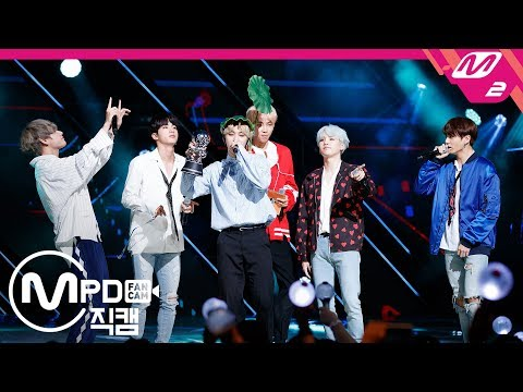 [MPD직캠] 방탄소년단 1위 앵콜 직캠 4K 'DNA' (BTS FanCam No.1 Encore) | @MCOUNTDOWN_2017.9.28