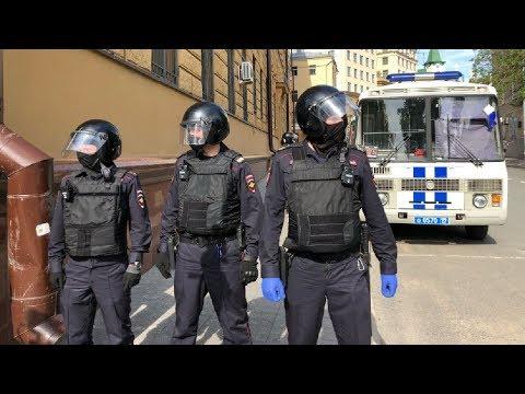 Апелляция на арест Ильи Азара.Задержания / LIVE 01.06.20
