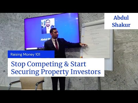 Raising Money 101: Stop Competing to Secure Property Investors