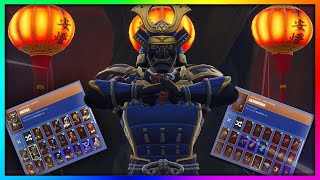 "Before You Buy ""MUSHA"" - All Skins and Back Blings Combinations in Fortnite"