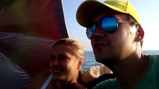 Свадебное путешествие на остров в Черном море
