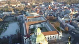 Kempten (Allgäu) - Sicht über Basilika St. Lorenz (1)