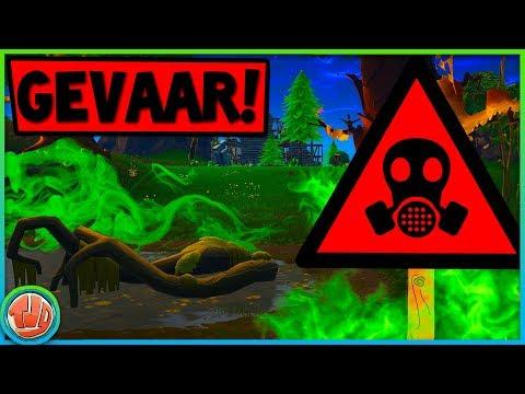 *NOODALARM!!* IN DE RAKET ZIT TOXIC GAS!?!  - Fortnite: battle Royale