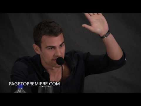 Theo James - 'Divergent' Los Angeles Press Conference