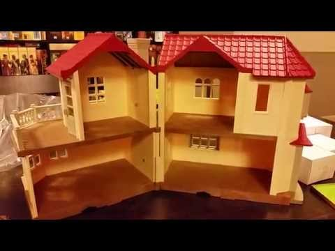 Calico Critters Luxury Townhome Unboxing