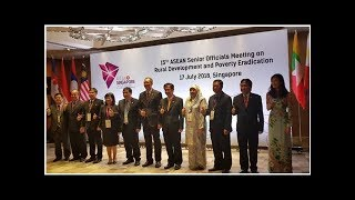 The 15th ASEAN's Senior Official Meeting on Rural Development and Poverty Education (SOMRDPE)