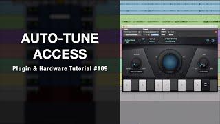 오토튠 액세스를 이용한 오토튠 이펙트 & 간편하게 튠을 할 수 있게 해주는 Auto-Tune Access