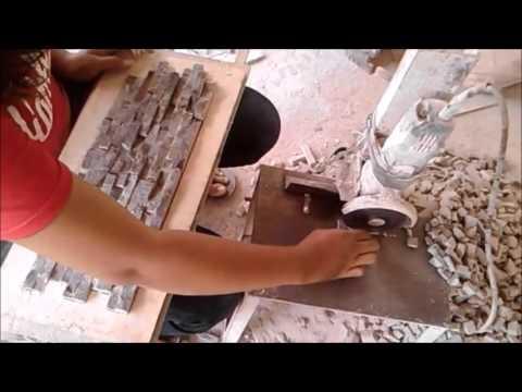 cara membuat batu alam buatan sendiri desain batu alam