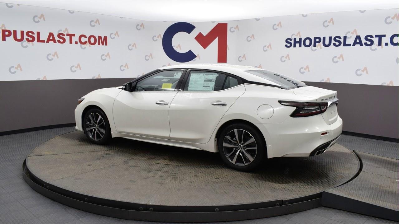 2020 pearl white nissan maxima 4d sedan #n7151 - youtube