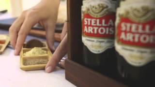 Salt Block Grilled Chicken Recipe With Roasted Corn Salad | Stella Artois