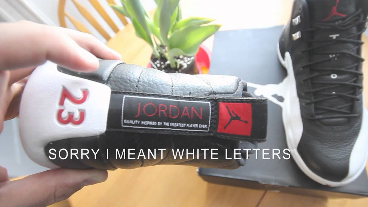 8e0ec780264381 2012 Air Jordan Playoff 12 on Feet Review HD - YouTube