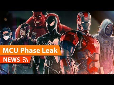 SDCC Marvel Studios Reveal Leaks Online