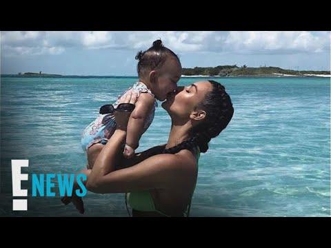 Kim Kardashian & 1-Year-Old Chicago West Get Matching Cars | E! News