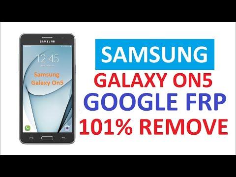Samsung Galaxy On5 Google FRP Remove 101%