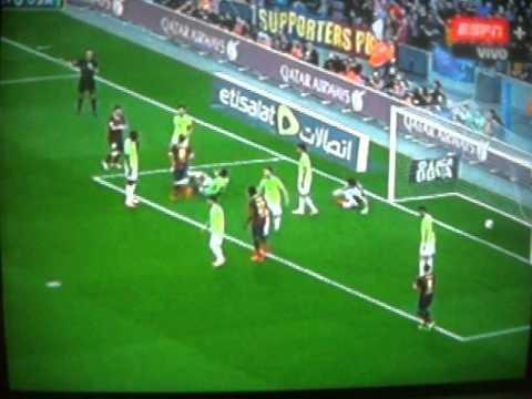 Barcelona vs Osasuna 7-0  Lionel Messi hack trick Goals & Highlights (16-3-2014) HD