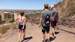 "Hiking ""A"" Mountain 
