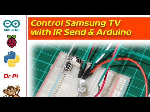 IR Transmitter - TV Remote Control Via Arduino With Infrared KY 005