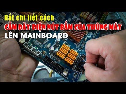 Hướng Dẫn Cắm Dây Tín Hiệu Audio,USB Và Front Panel