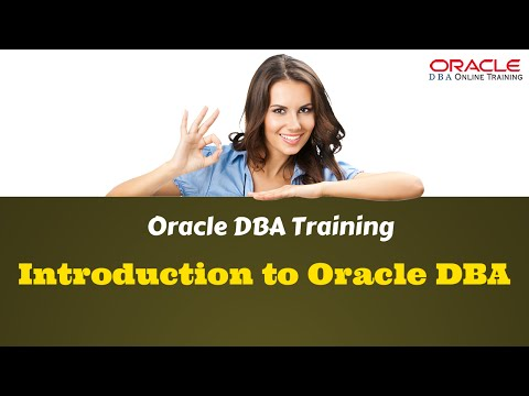 Introduction to Oracle Database Administration(DBA)