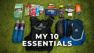 My 10 Essentials for Trail Running