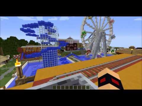 parc d 39 attraction minecraft pisode 1 dream land youtube. Black Bedroom Furniture Sets. Home Design Ideas