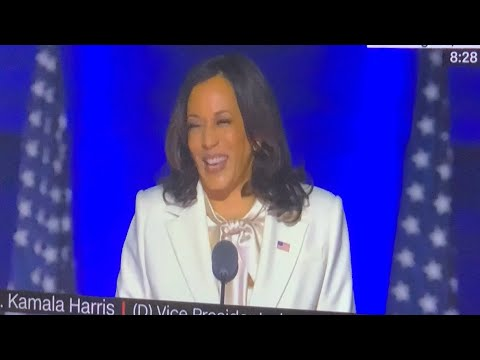 Oakland's Vice President Kamala Harris Speech After Joe Biden Elected President Of The United States