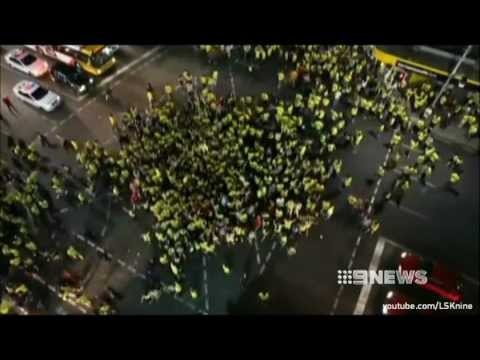 Adelaide University Engineering 2013 Boozing Bad Pubcrawl - News Reports (9, 7, 10 News)