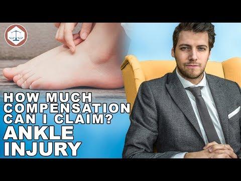 Ankle Injury Compensation Claims Amounts? ( 2019 ) UK