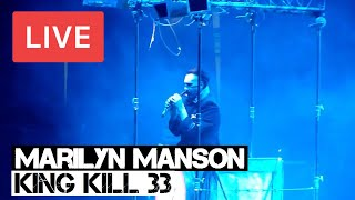 Marilyn Manson - King Kill 33° Live in [HD] @ 02 Arena - London 2012