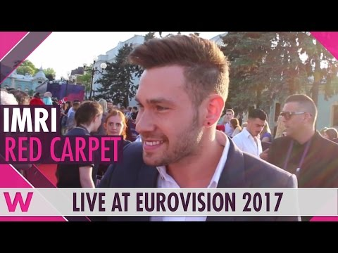 IMRI (Israel) red carpet interview at Eurovision 2017