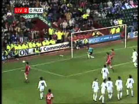 Liverpool vs AJ Auxerre - 1991
